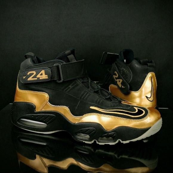cbc2d58684cf39 Nike Air Griffey Max 1 Black   Gold 354912-006. M 5b9f326fc61777ef7f5edb28